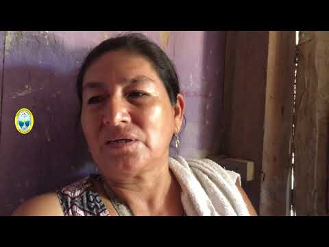 LA MPPA JUNTO A DEFENSA CIVIL ENTREGAN AYUDA A LAS DOS FAMILIAS DAMINIFICADAS POR INCENDIO