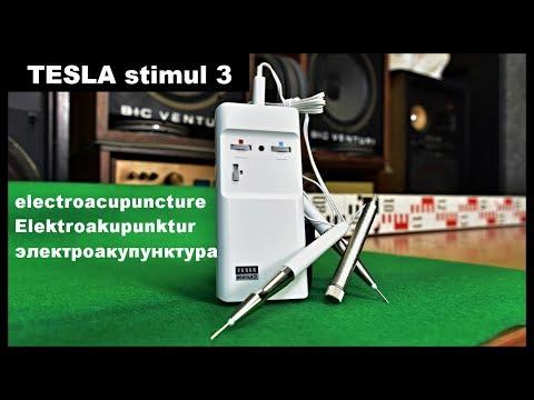 TESLA stimul 3 Typ MTK 901 elektrická akupunktura electroacupuncture điện châm cứu