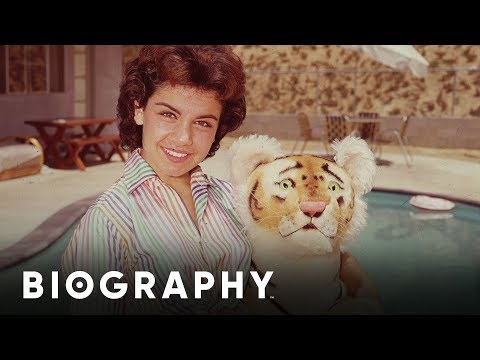 Annette Funicello - Mouseketeer On The Original Mickey Mouse Club   Mini Bio   Biography