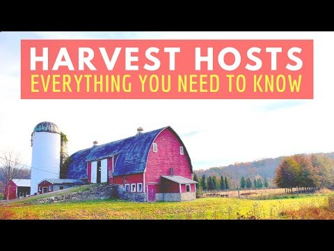 HARVEST HOSTS: Everything You Need to Know 🚐🇺🇸RV Living Full Time & Van Life