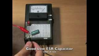 ESR Meter(a.k.a. A Capacitor Tester) By Cavy-Lab(ESR Meter by Cavy-Lab ESR Meter is a irreplaceable tool for testing an electrolytic capacitors in-circuit. Very useful for repairing a Computer Mainboard, Power ..., 2013-05-06T17:21:34.000Z)