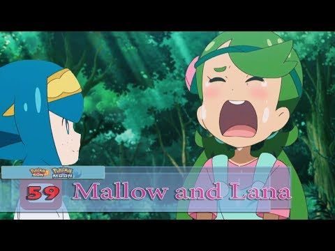 Lana and Mallow, the Bittersweet Memories!  Sun and Moon Ep 59