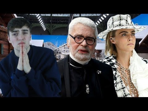 Karl Lagerfeld's Last Chanel Show (Chanel Fall-Winter 2019 Fashion Show Review)