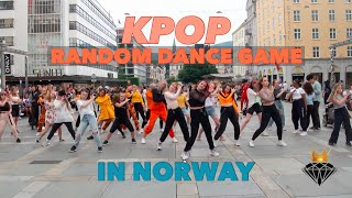 [KPOP IN PUBLIC] RANDOM DANCE GAME IN NORWAY