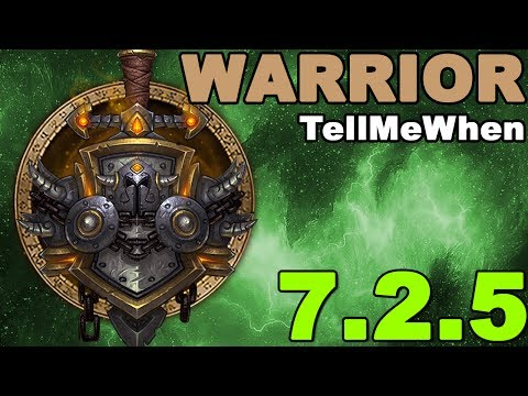 Warrior TMW Profile for Patch 7.2.5 w/Download
