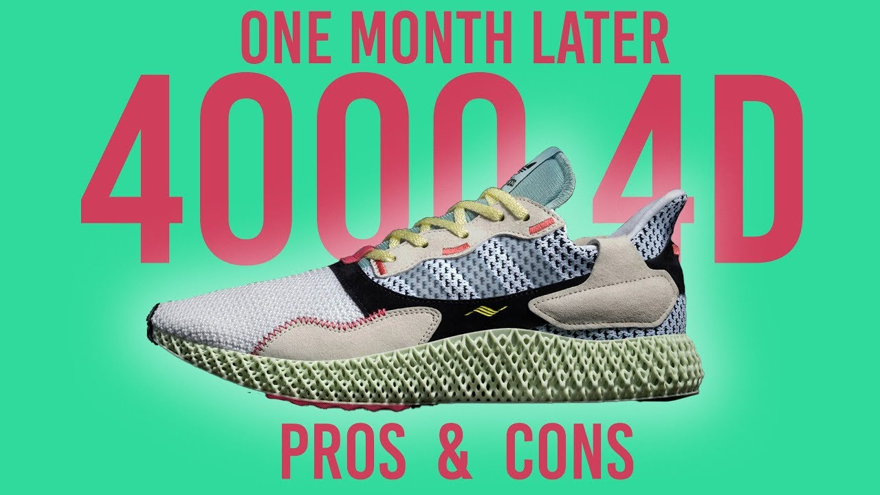 65fdc7ddf IS THE ADIDAS ZX 4000 4D WORTH THE PRICE   - YouTube