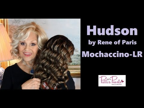 Wig Review:  Hudson by Rene of Paris in Mochaccino-LR