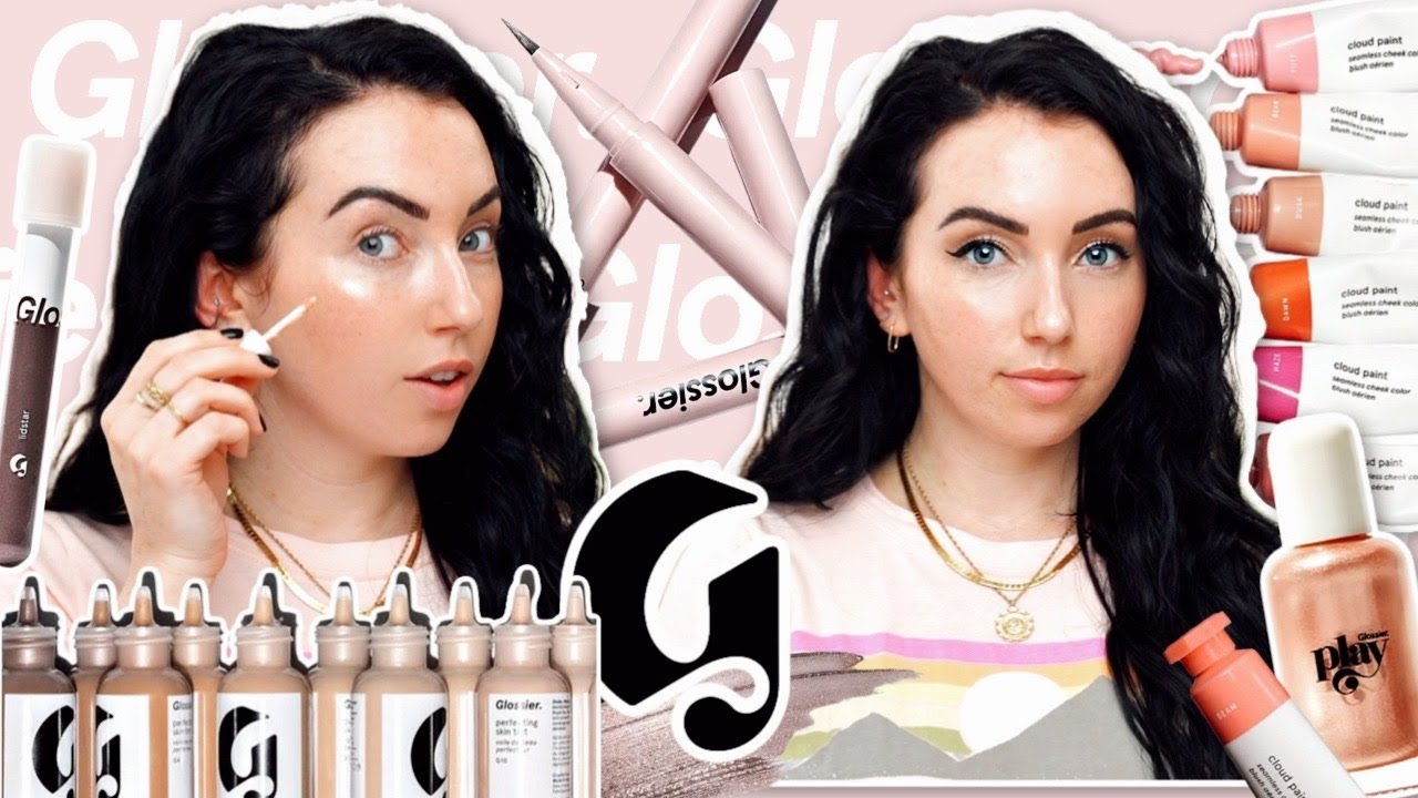 I Finally Tried Glossier and...✨ Skin Tint, Stretch Concealer, Cloud Paint, Pro Tip
