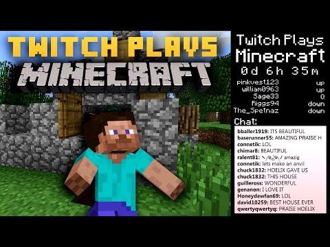 Twitch Plays Minecraft