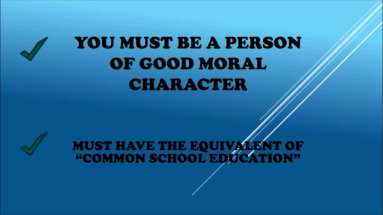 Certificate Of Disability Certificate Of Good Conduct Youtube