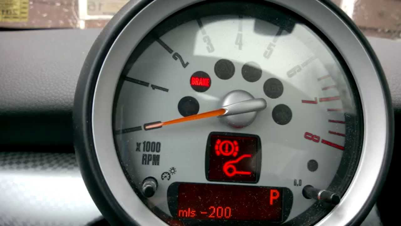 medium resolution of resetting brake pad service indicator r56 mini cooper s