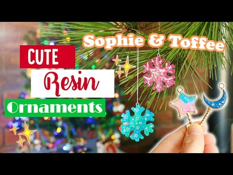 Cute Resin Ornaments│Sophie & Toffee Subscription Box November 2016