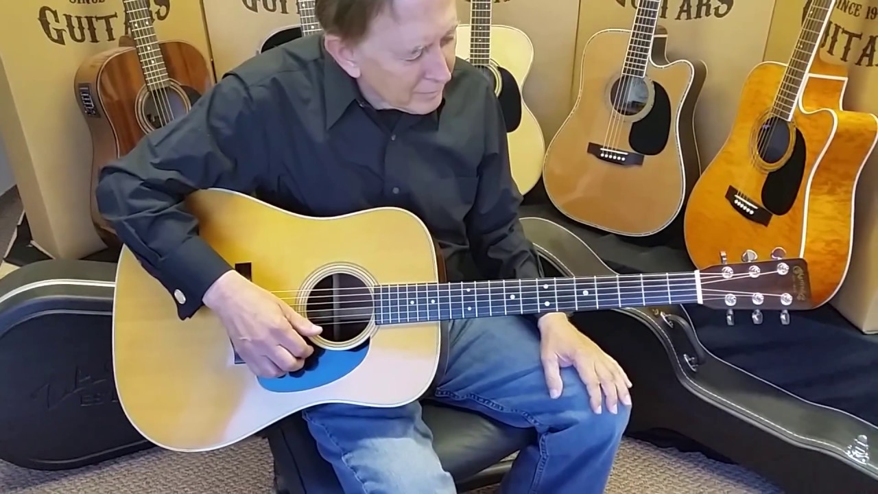 martin d 28 brazilian vs zager zad80ce with loop control