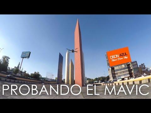 Probando DJI Mavic Pro en las Torres de Satélite