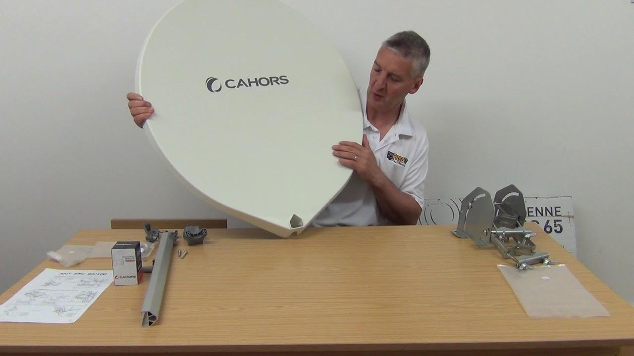 55cm Fibreglass Satellite Dish