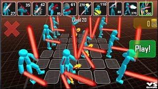 Stickman Simulator: Battle of Warriors - Android GamePlay Stickman Battle Episode 3