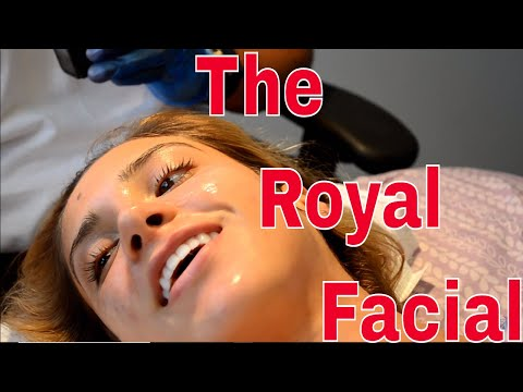 How to Treat My Clients Skin Before Her Vacation, aka The Royal Wedding Facial on YouTube 2018 Pt 2.