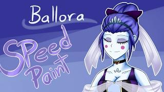 FNaF Sister Location: Ballora the Ballerina (Wolf-con-f) [Speedpaint] by Emil-Inze