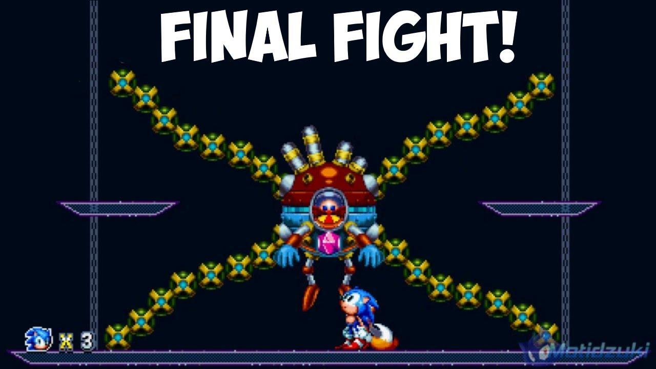 Final Fight (3D Blast) | Sonic Mania mods ⮚ Walkthrough