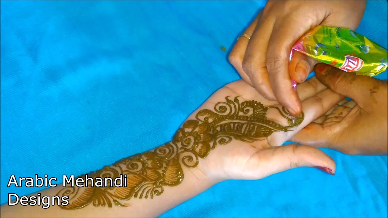 Bridal Mehndi Designs For Hands Simple Arabic Mehandi Henna Front Hand Mehndi For Hands Easy 2019