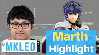 Marth Smash Ultimate: MKleo's Marth Combos Highlight | How to play Marth | Marth Guide