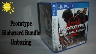Prototype Biohazard Bundle PS4 Unboxing & Overview