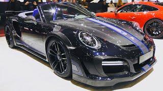 Porsche 911 Design Concept by TECHART Videos