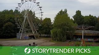 Explorer Discovers Abandoned Children's Theme Park