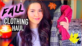 Fall Clothing Haul 2014 Thumbnail
