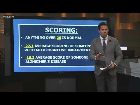 How hard is the cognitive exam President Trump took?