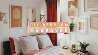 Boho Chic DIY Room Makeover 2019 | Making Over My Brother + His Girlfriend's Bedroom!