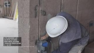 Isotex Academy - 5° Video Corso - Come realizzare le tracce nelle pareti Isotex