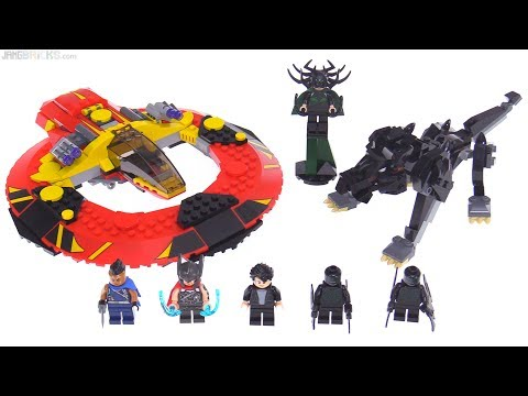 LEGO Marvel Thor: Ragnarok Ultimate Battle for Asgard review! 76084