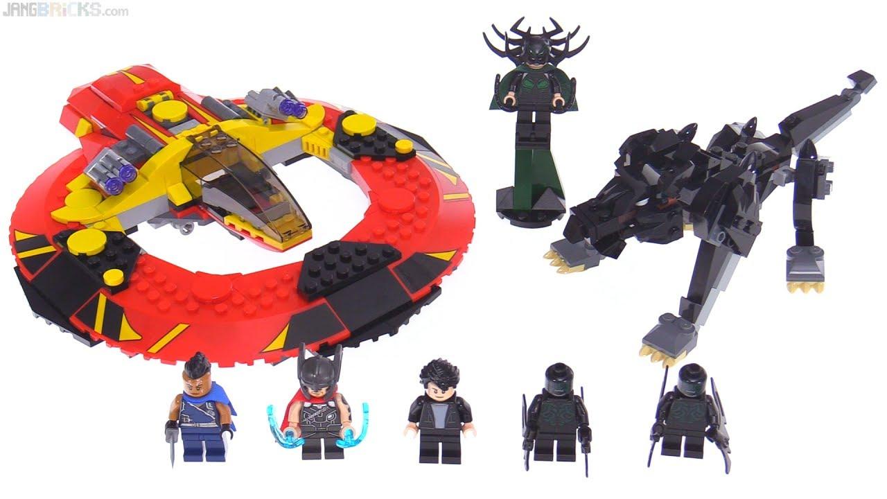 Lego Marvel Thor Ragnarok Ultimate Battle For Asgard Review 76084
