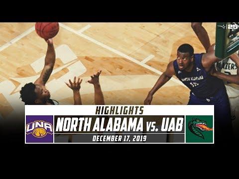North Alabama Vs. UAB Basketball Highlights (2019-20)   Stadium