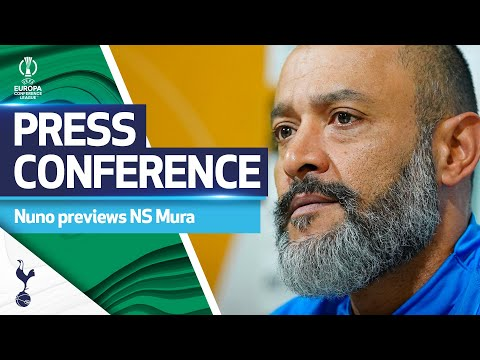 """""""Sticking together is the only way to do it.""""   Nuno's press conference ahead of Mura clash"""