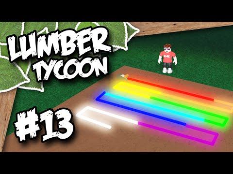 Lumber Tycoon 2 #13 - NEON LIGHTS (Roblox Lumber Tycoon)