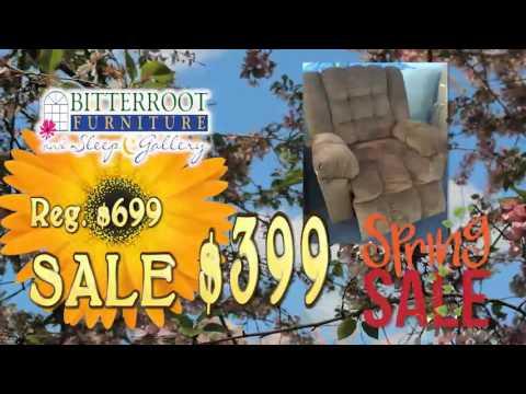 Bitterroot Furniture Spring Sale