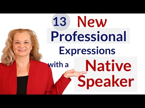 Learn 13 Professional English Expressions from a native speaker. (Part 2 of Ross interview)