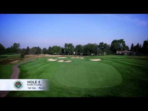 Hole 3 | South Course | Oakland Hills Country Club | Bloomfield Hills, MI