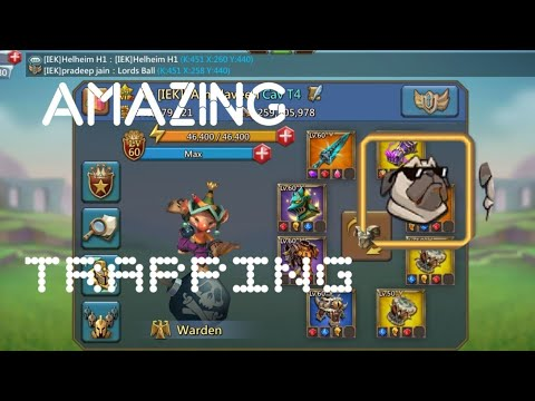 Amazing Garrison Trapping Lords Mobile    Lords Mobile Garrison Trapping