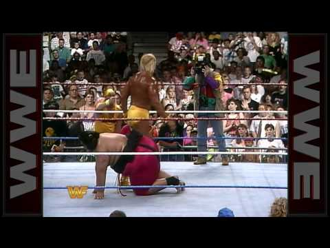 WWE Hall of Fame: Yokozuna defeats Hulk Hogan to win his