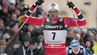 men s sprint finale stockholm 2013 petter northug knockout