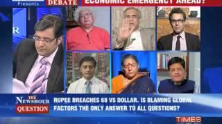The Newshour Debate: Economy trembles - Part 2