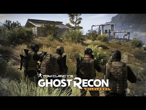 Ghost Recon Wildlands: Immersive Warfare: Assault on Cocaine Plant  & Heavy Fire Fight