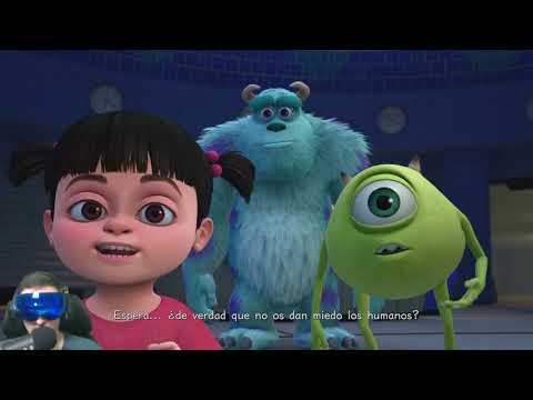 Monstruos Sa Pelicula Completa En Espanol Del Videojuego Kh3 Disney Pixar Youtube
