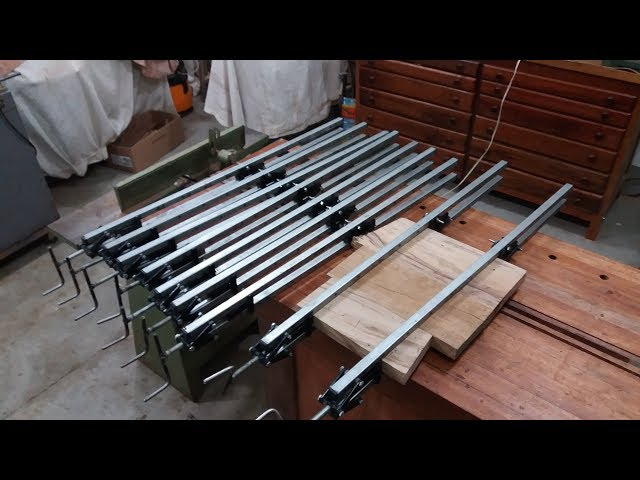 grampo caseiro dupla ação double clamp sargento caseiro