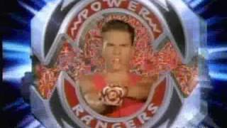 Mighty Morphin Power Rangers Morphing Sequences