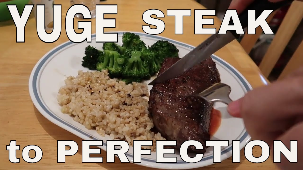 how to cook small steaks