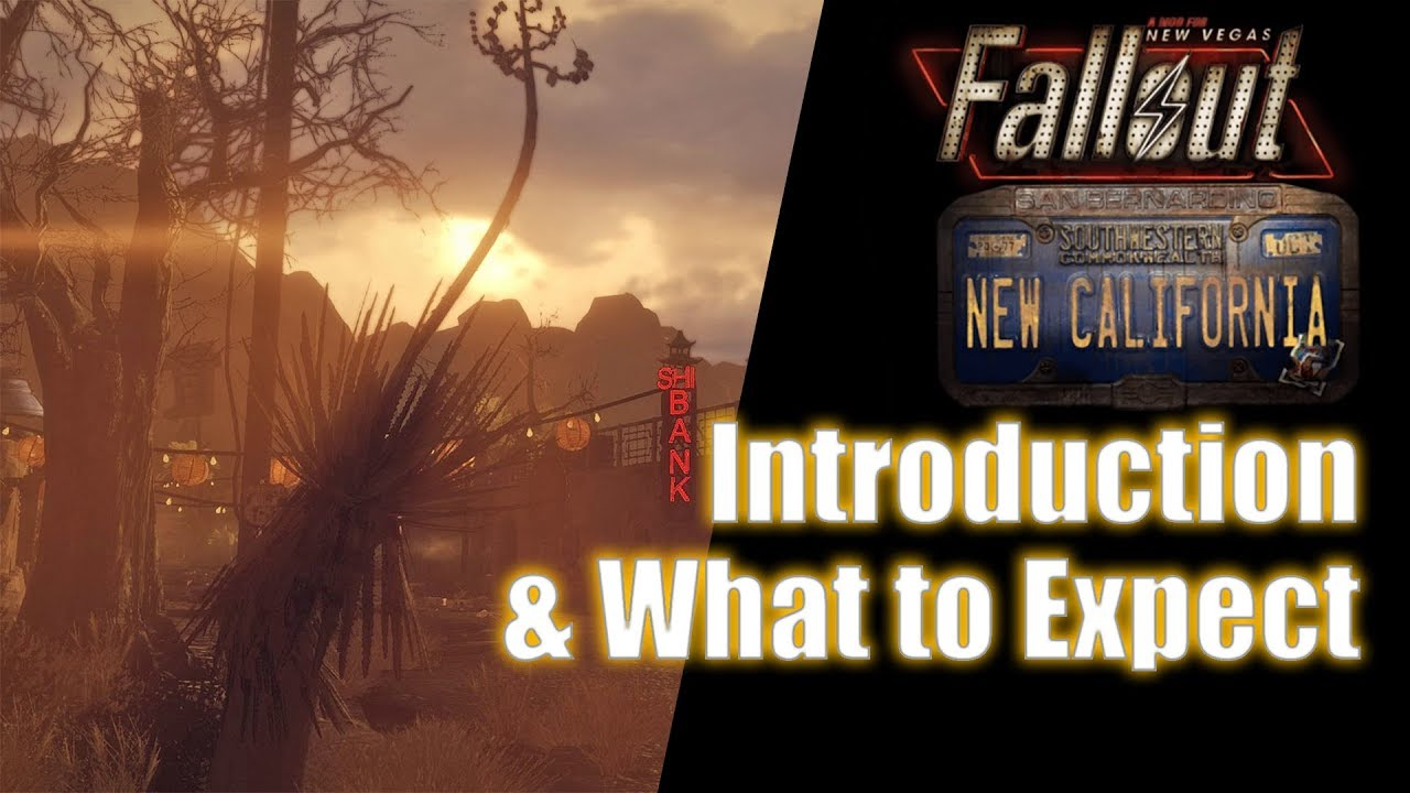 Fallout: New California - What to Expect   Fallout New Vegas Mod